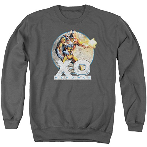 XO Manowar - Vintage Manowar Sweater - Xo Manowar, Large, Charcoal