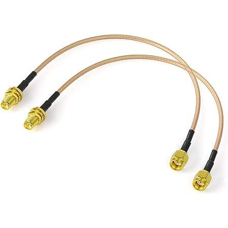 Bingfu Rp Sma Stecker Auf Rp Sma Buchse Kabel 30cm Elektronik