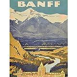Wee Blue Coo Travel Banff Canada Rockies Hotel Mountain Art