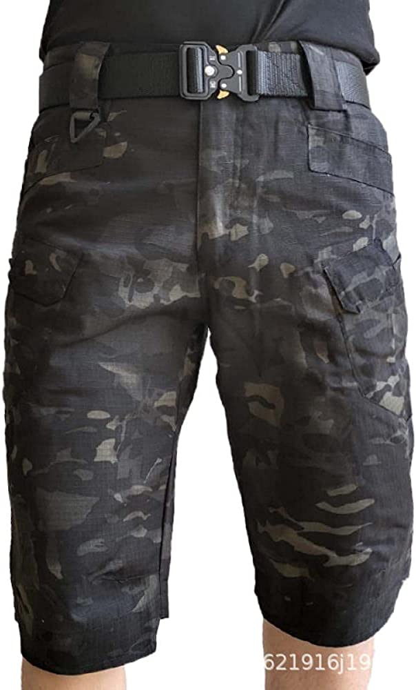 Upgraded Waterproof Tactical Shorts for Men Outdoor Hiking Quick