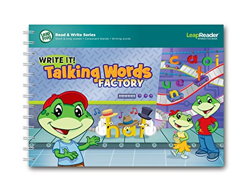 LeapFrog LeapReader Writing Workbook: Write it! Talking Words Factory