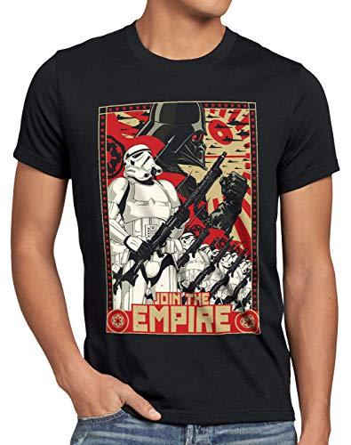 A.N.T. Join The Empire Herren T-Shirt Imperium sturmtruppen, Größe:L