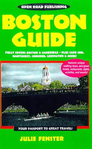 Boston Guide, 2nd Edition (Open Road Travel Guides)