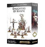 Taller de Juegos Warhammer Age of Sigmar: Comience a coleccionar! Hijas de Khaine