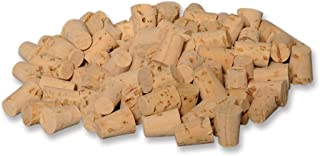 BodyJewelryOnline 100 Pcs Small Body Natural Piercing Corks for Needles Tool Stopper Jewelry Stud
