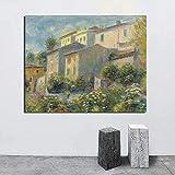 KWzEQ Paisaje Pared Arte Lienzo impresión Moderna Imagen de la Pared para Sala de Estar decoración del hogar,Pintura sin Marco,60x75cm