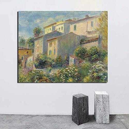 KWzEQ Landschaftswandkunst Leinwandplakatdruck modernes Wandbild für Wohnzimmerdekoration,Rahmenlose Malerei,60x75cm