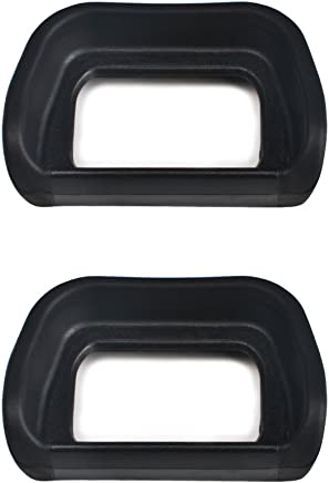 (2 Pack) VKO Eyepiece / Eyecup / Viewfinder FDA-EP10 Replacement for Sony NEX-6 NEX-7 A6300 ILCE-6300 A6000 ILCE-6000 Digital Cameras & FDA-EV1S Electronic Eyecup(2019 New Version)