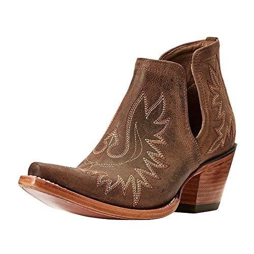 Ariat Women's Dixon Western Boot, Weathered Brown, 10