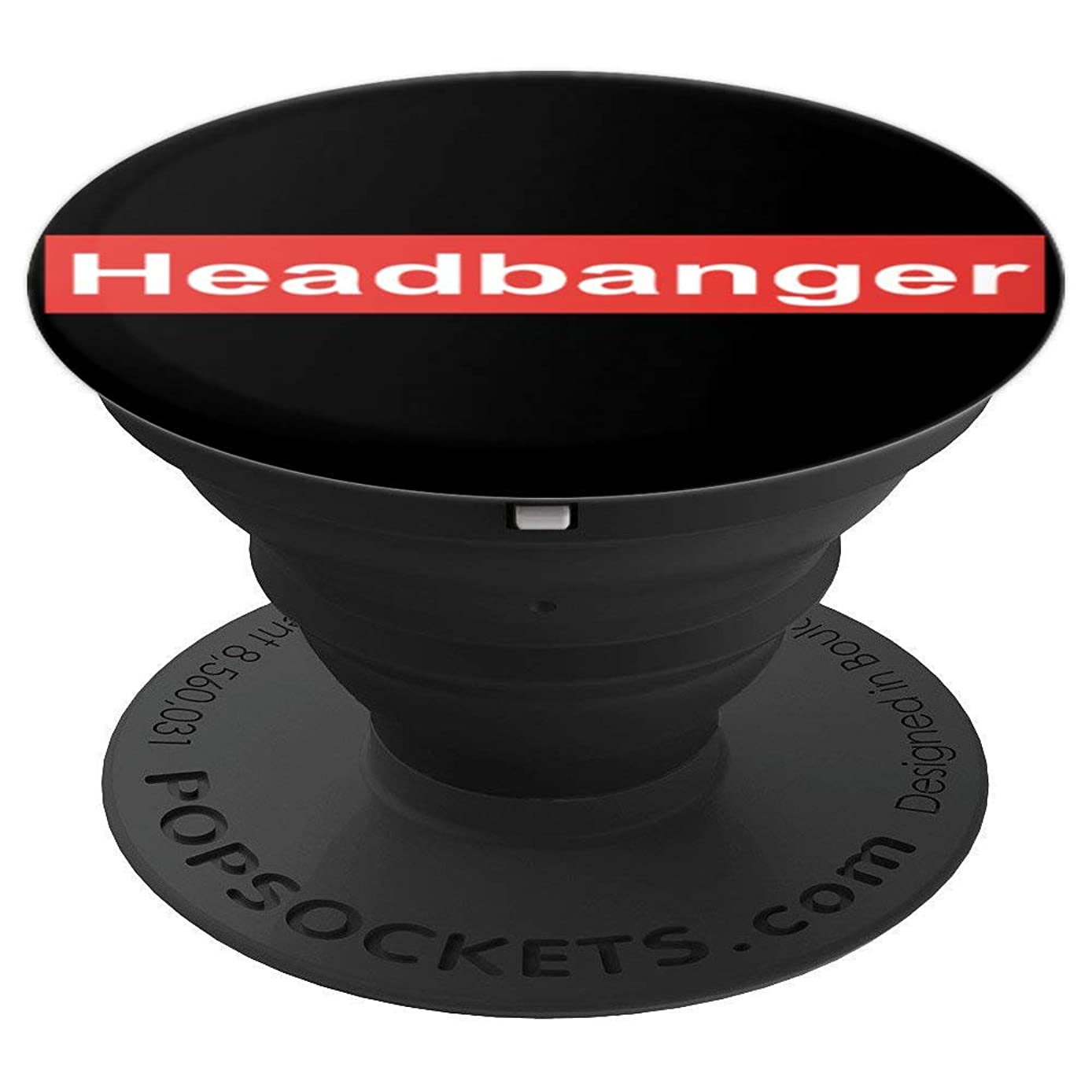Headbanger Music Festival EDM Rave Men Women Gift - PopSockets Grip and Stand for Phones and Tablets