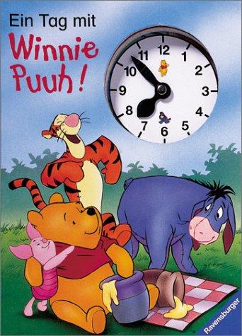 Ein Tag mit Winnie Puuh: Buch mit Uhr