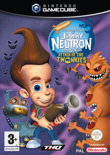 Jimmy Neutron - Boy Genius Attack Of Twonkies - GameCube