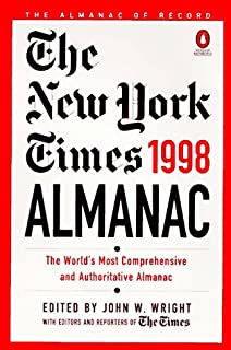 The New York Times Almanac 1998 (Paper)