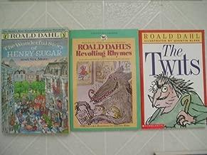 Roald Dahl Set (Wonderful Story of Henry Sugar, Twits, Roald Dahl's Revolting Rhymes)