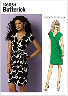Butterick Ladies Easy Sewing Pattern 6054 Wrap Dress