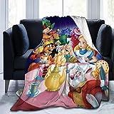 QWEQW Alice in Wonderland Blanket Super Soft Velvet Warm Fluffy Blankets, Children's Blanket, Easy to Maintain, All Season Quality 80'' x60