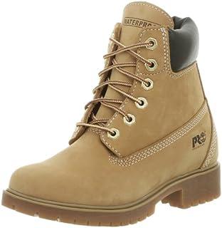 """Timberland PRO Women's 74387 Waterville 6"""" Waterproof Soft Toe Boot,Wheat,5.5 M"""