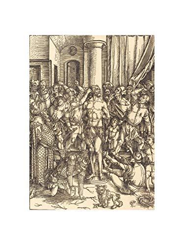 Albrecht Durer - The Flagellation ca 1497 Print 60x80cm