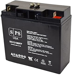 Replacement Battery Powerware Prestige 6000 Extended 12V 18Ah UPS Battery -(SPS Brand)