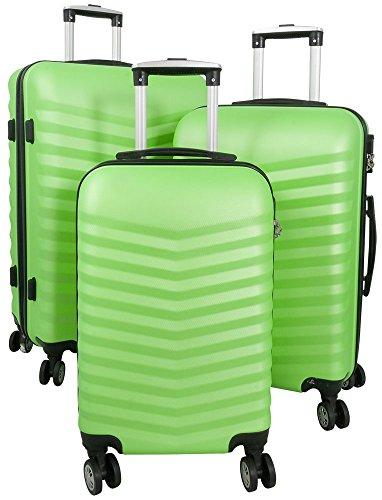 ABS-kofferset 3-delig Bora 81 + 50 + 31 liter verschillende kleuren