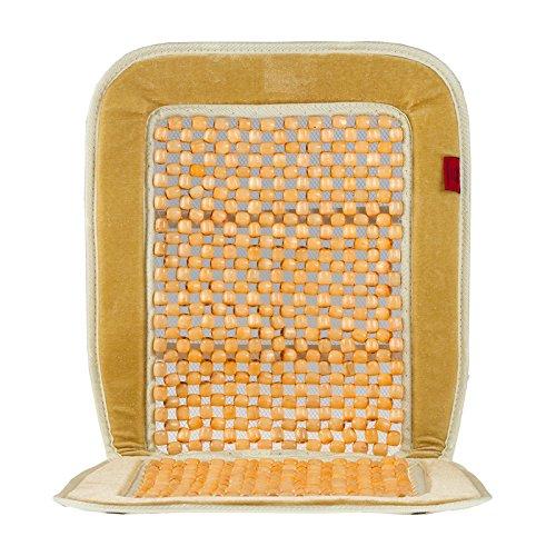 HEYNER® 709200 Holzkugel Sitzauflage Auto beige