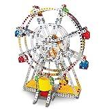 Ferris Wheel Building Model with Metal Beams and Screws Lights & Music 954 pcs