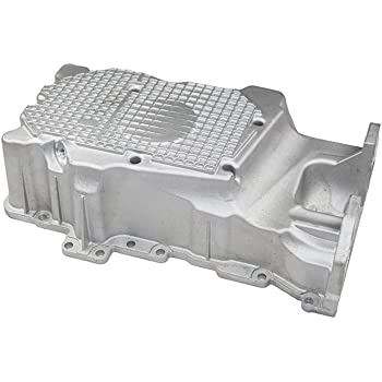 Oil Pan Compatible with 2009-2012 Ford Escape With Drain Plug