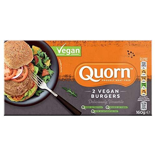 Quorn BURGER QUORN VEGANO 160g (Pack de 2)