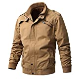 Buytop Men's Casual Winter Cotton Military Jackets...