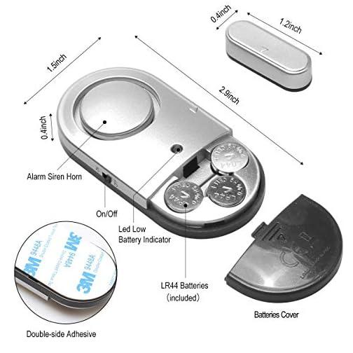 Door Window Alarm, Toeeson 120DB Door Alarms for Kids Safety, Window Pool Alarms for Home 4