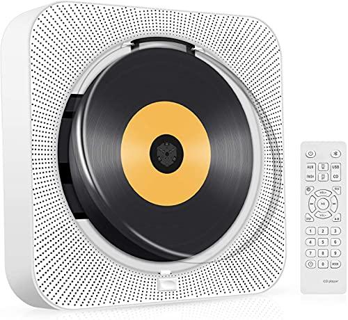 Newest Mini CD Player, Bluetooth...