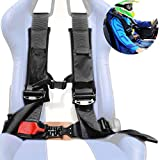 4 Point Racing Harness Seat Belt Safety 3' 4 Point Security Seatbelt with Anti-Shock Sewn In Pad And...
