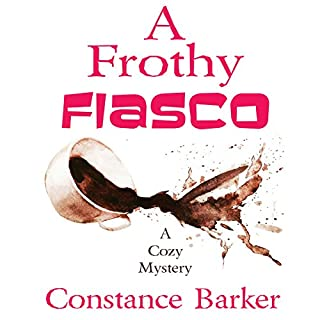 A Frothy Fiasco audiobook cover art