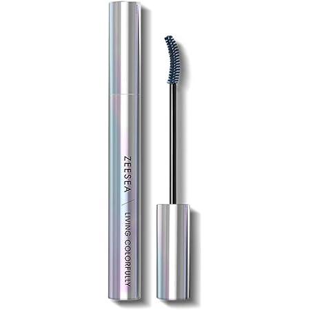 ZEESEA(ズーシー)ダイヤモンドシリーズ マスカラ (青グレイ)6.5g/7ml 自然に際立つまつげ 速幹フィルム 防水カール カラーマスカラ