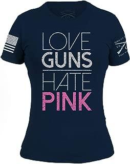 Grunt Style Love Guns Hate Pink 2.0 Women's T-Shirt