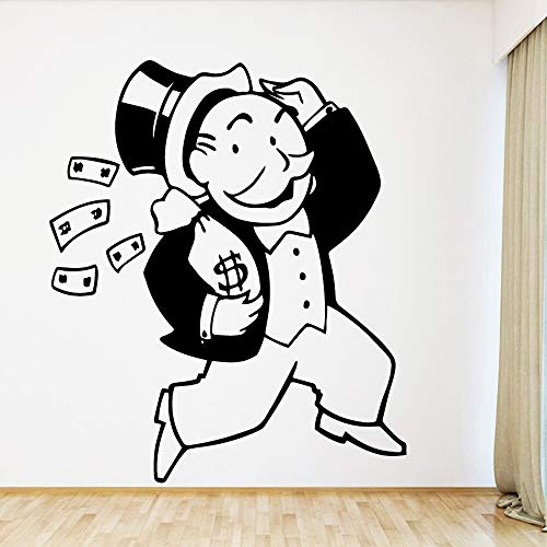 zhuziji Üppige Bier Wanddekorationen Wohnzimmer Für Kinderzimmer Wohnzimmer Wohnkultur PVC Wand D43x50cm
