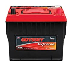 Cold Crank Amp (CCA)- 850. 20Hr Nominal Capacity (Ah)- 65 Better warranty: Limited 3 and 4 year full replacement warranty - not pro rata Longer service life: With 3-10 years of service life, ODYSSEY batteries save consumers time, money, and aggravati...