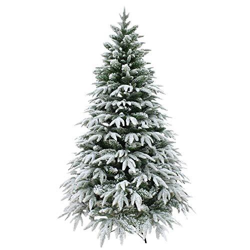 Shatchi Albero di Natale, Bianco, 1,2m