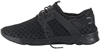 Dude Shoes Hey Men's Mistral Total Black Airflow Trainer/Swimming Shoes/Beach Shoes