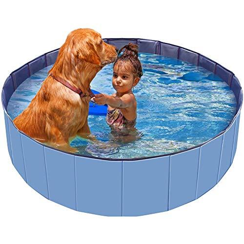 Zwembad Voor Huisdieren Hond Kat Ligbad Binnen Buiten Puppyzwembad, Duurzaam Honden Kinderbad in Werftuin