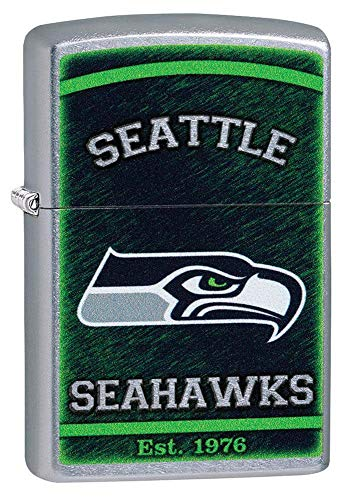 Zippo NFL Seattle Seahawks Pocket Lighter, One Size