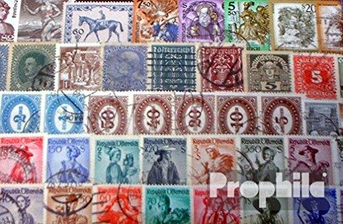Prophila Collection Österreich 100 Verschiedene Marken (Briefmarken für Sammler)