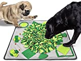Dog Snuffle Mat, Pet Slow Feeding Mat for Large Small Dogs, Stress Relief Interactive Dog Toys for Smell Training and Slow Eating Machine Washable Training Mats Encourages Natural Foraging Skills