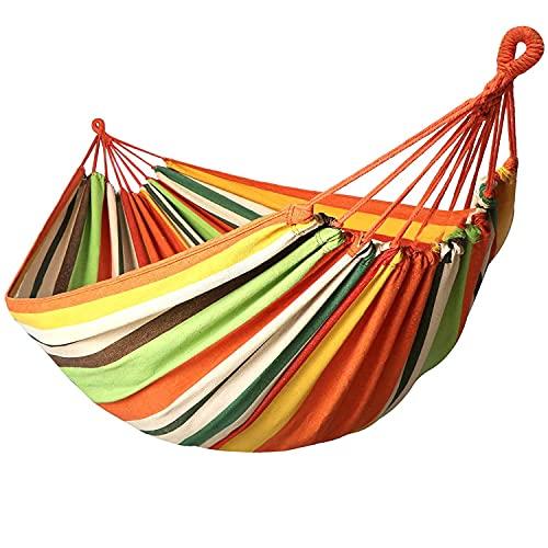 Garden Hammocks Comfortable Fabric Hammock Portable with Carrying Bag for Outdoor Patio Yard...
