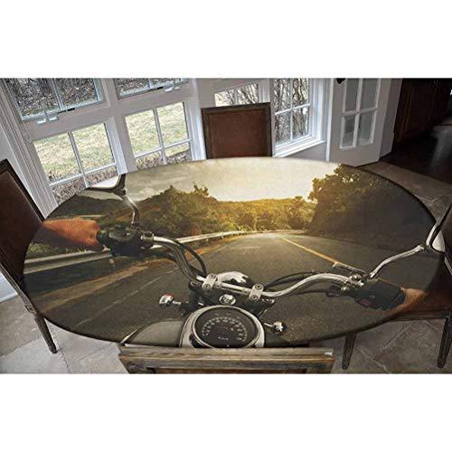 LCGGDB Mantel ajustable de poliéster elástico para mesa, diseño rectangular y ovalado, se adapta a mesas de hasta 122 cm de ancho x 172 cm de largo