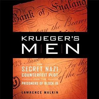 Krueger's Men audiobook cover art