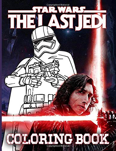 The Last Jedi Coloring Book: The Crayola The Last Jedi Coloring Books For Adults - (Book For Adults & Teens)