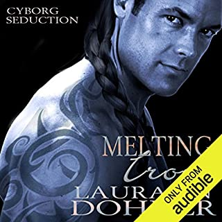 Melting Iron     Cyborg Seduction, Book 3              Written by:                                                                                                                                 Laurann Dohner                               Narrated by:                                                                                                                                 Mindy Kennedy                      Length: 7 hrs and 21 mins     3 ratings     Overall 4.7