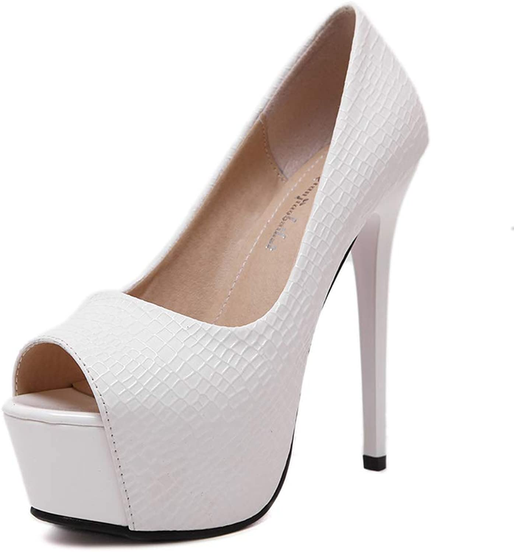 Open Toe High Heels for Women Buckle Stiletto Dress Pumps shoes Sandals Black,White,39