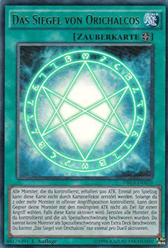 DRL3-DE070 - Das Siegel von Orichalcos - Ultra Rare - Yu-Gi-Oh - Deutsch - 1. Auflage